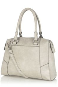 Panelled day bag