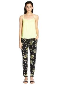 Floral printed trouser