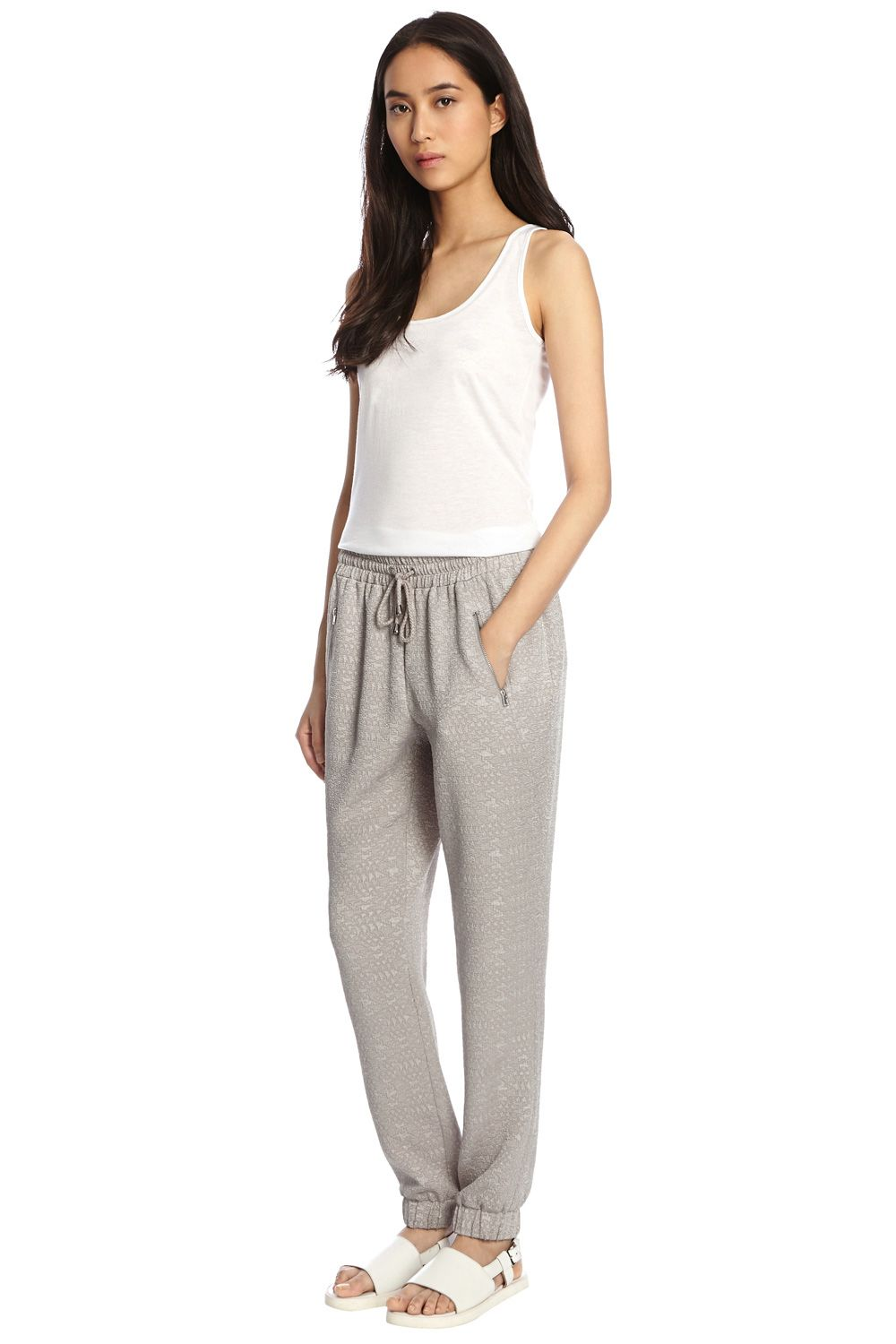 Textured Jogger Trousers