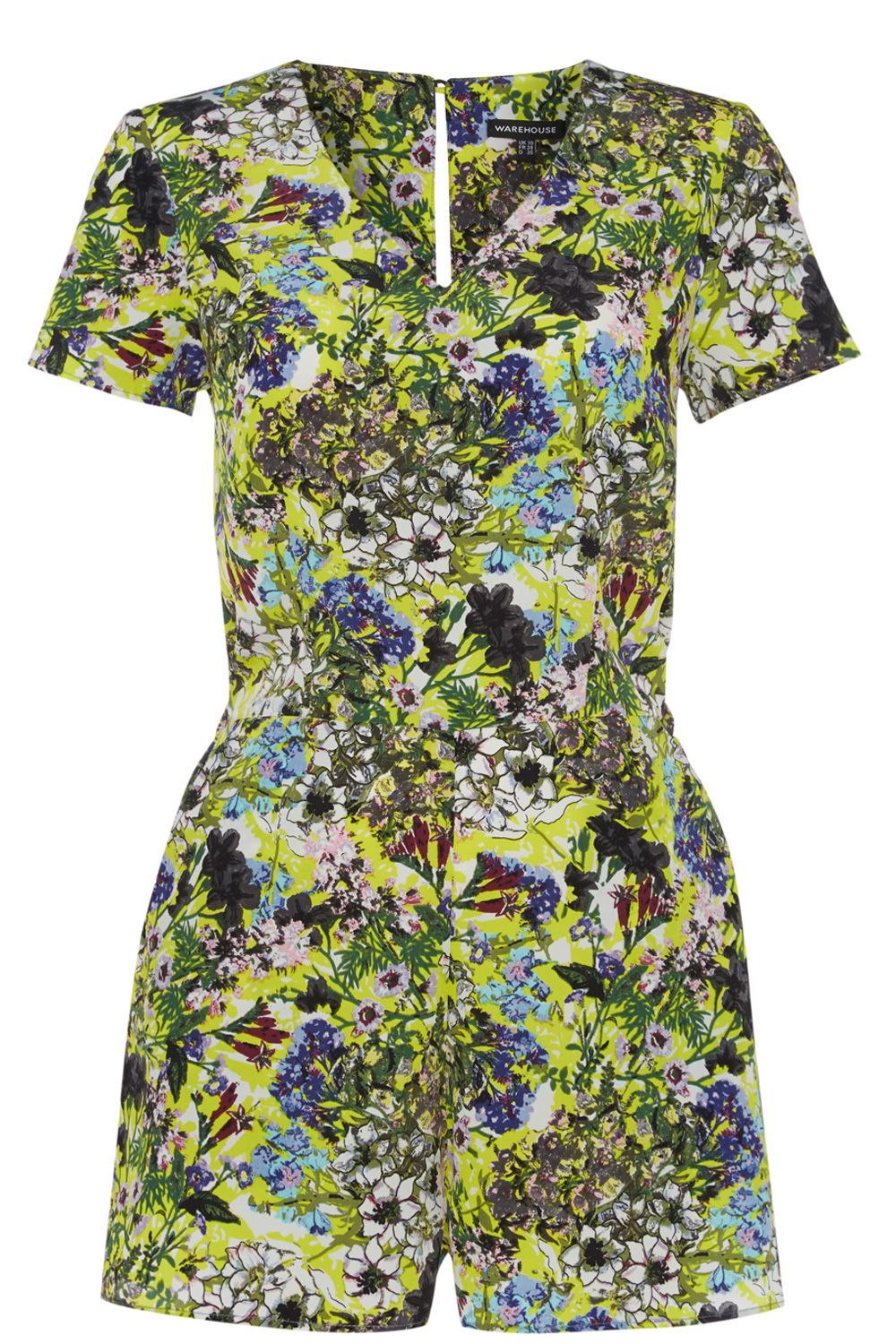 Garden Floral Playsuit