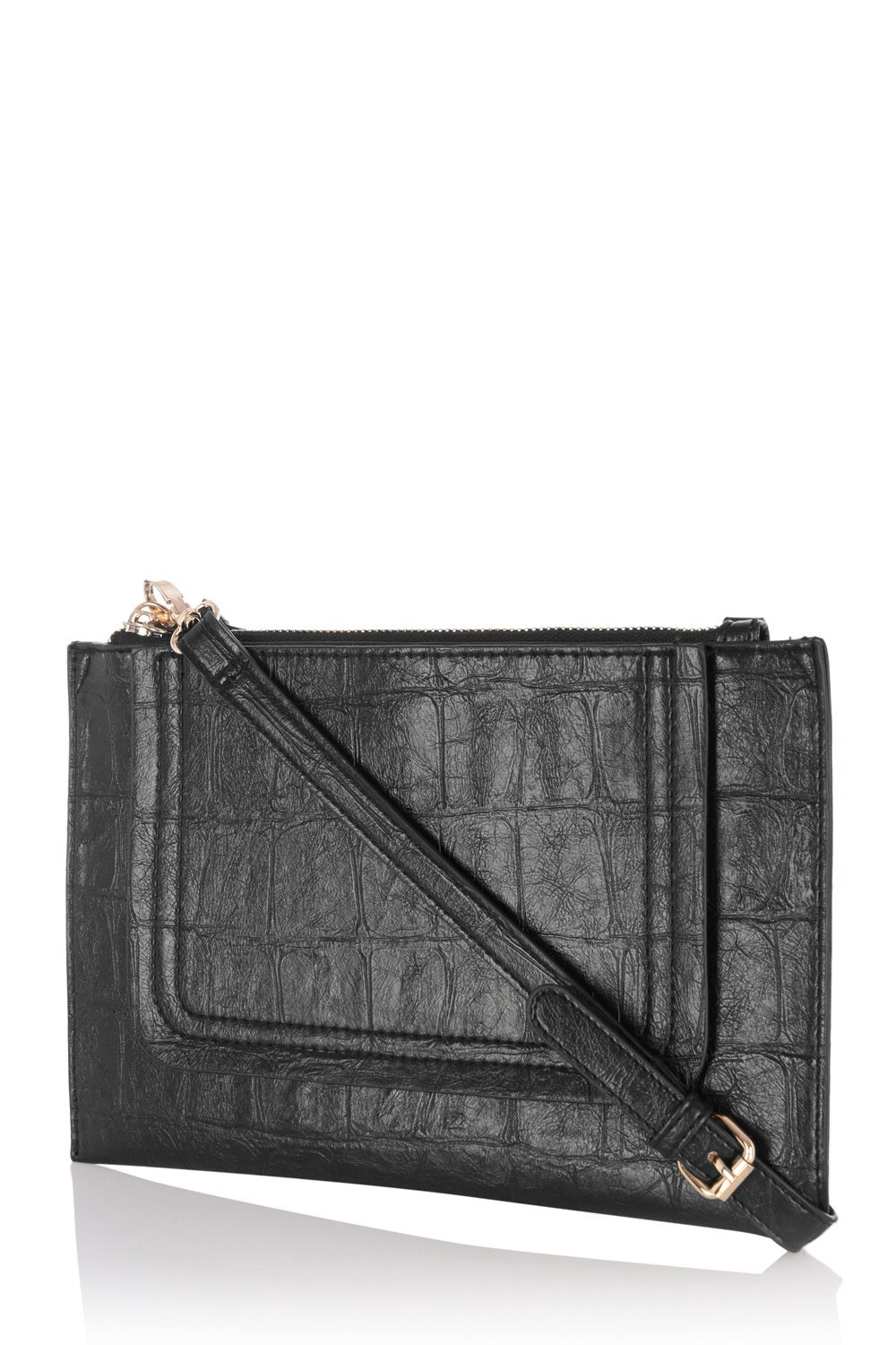 Curve Pocket Cross Body Bag