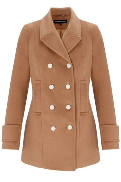 Warehouse Double breasted pea coat