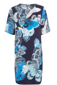 Placement Butterfly Dress