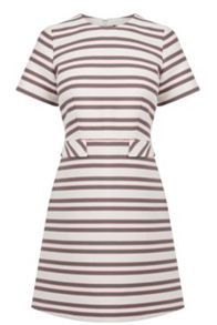 Striped Tailored Dress