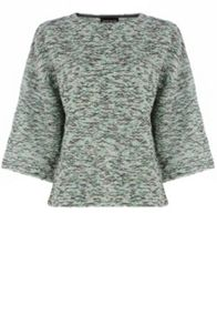 Boucle Bell Sleeved Top