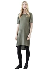 Clean Marl Tee-Shirt Dress