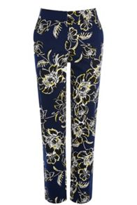 Giant Floral Tailored Trouser