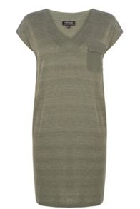 Utility Marl Tee-Shirt Dress