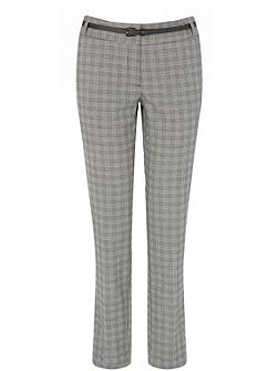 Warehouse CHECKED TAILORED TROUSER