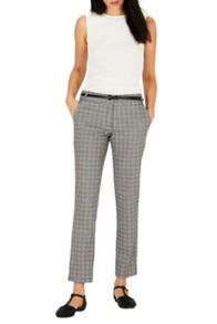 CHECKED TAILORED TROUSER