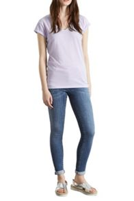 V neck boyfriend T-shirt