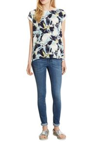 Matisse Floral Wrap Back Tee