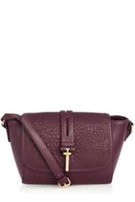 Tab Bar Detail Crossbody Bag
