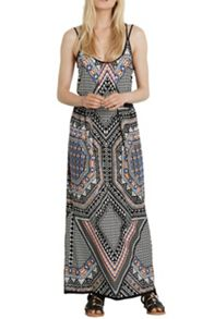 Tribal Placement Maxi Dress