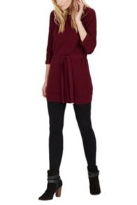 Knitted Belted Tunic