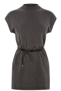 Plain belted tabard