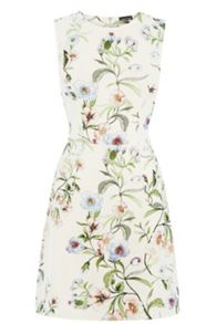 Blossom Floral Scuba Dress