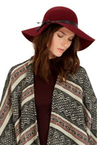 Layered Band Floppy Hat