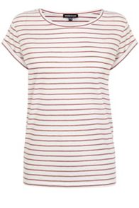 Warehouse Stripe Boyfriend Tee