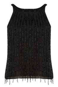 Warehouse Drop Bead Embellished Top