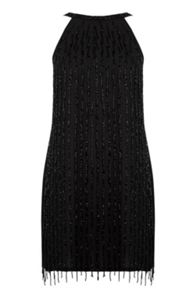 Warehouse Drop Bead Embellished Dress