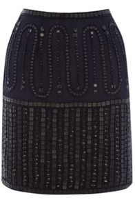 Warehouse Beaded Skirt