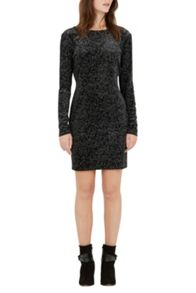 Warehouse Geo Pattern Sparkle Dress