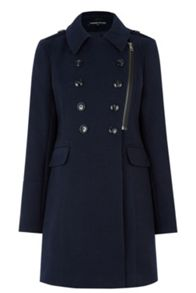 Warehouse Longline Pea Coat
