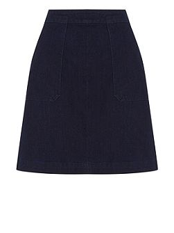 Pocket Detail Pelmet Skirt