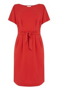 Warehouse Belted Dress