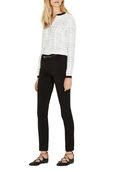Warehouse Belted Workwear Trouser
