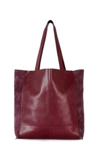 Warehouse Leather Unlined Shopper