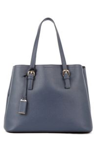 Warehouse Double Buckle Detail Tote