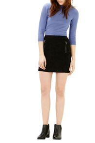 Warehouse Zip Detail Pelmet Skirt
