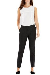 Warehouse Pinspot Slim Leg Trousers