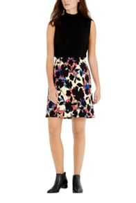 Warehouse Floral Print Skirt
