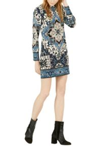 Warehouse Tapestry Shift Dress