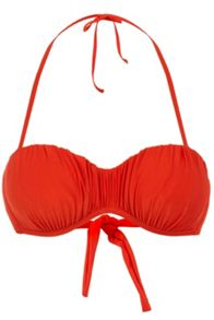 Warehouse Ruched Bikini Top