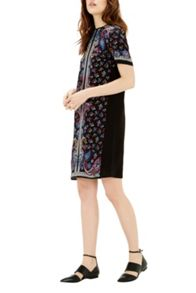 Warehouse Paisley Placement Dress