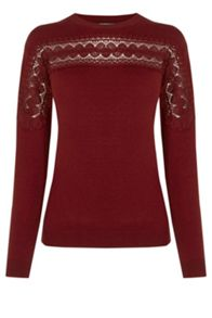Warehouse Lace Applique Jumper