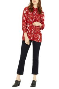 Warehouse Scattered Floral Blouse