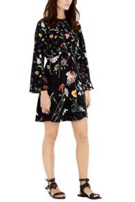 Warehouse Scatter Floral Dress