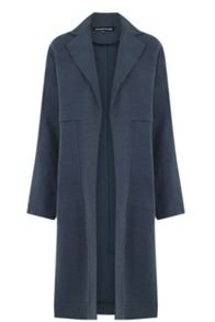 Warehouse Linen Duster Coat