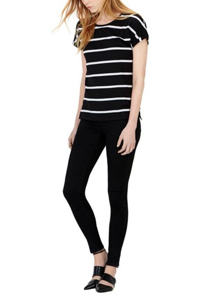Warehouse Block Stripe T-Shirt