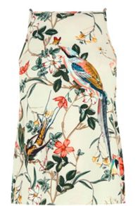 Warehouse Bird Print Cami