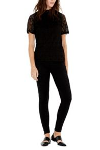 Warehouse Victoriana Lace Top