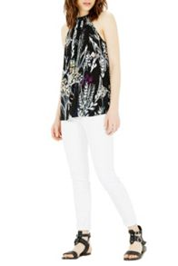 Warehouse Abstract Floral Top