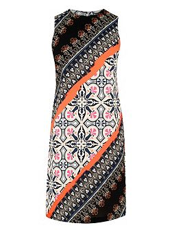 Latina Printed Shift Dress