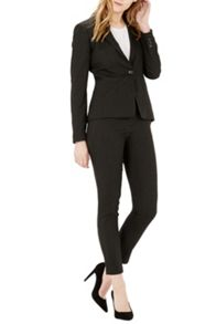 Warehouse Textured Tailored Trousers