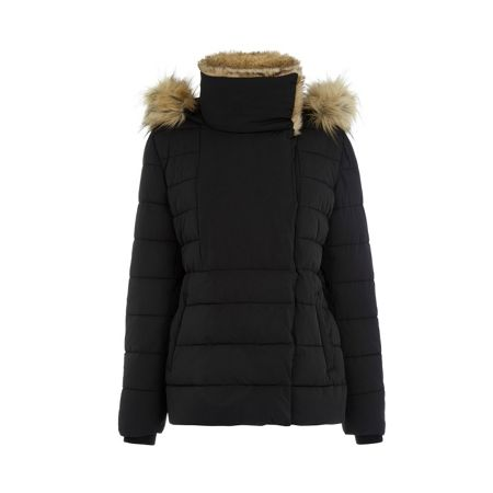 Warehouse Short Luxe Padded Jacket